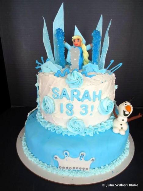 """""""Frozen"""" Birthday Cake by Reader !"""
