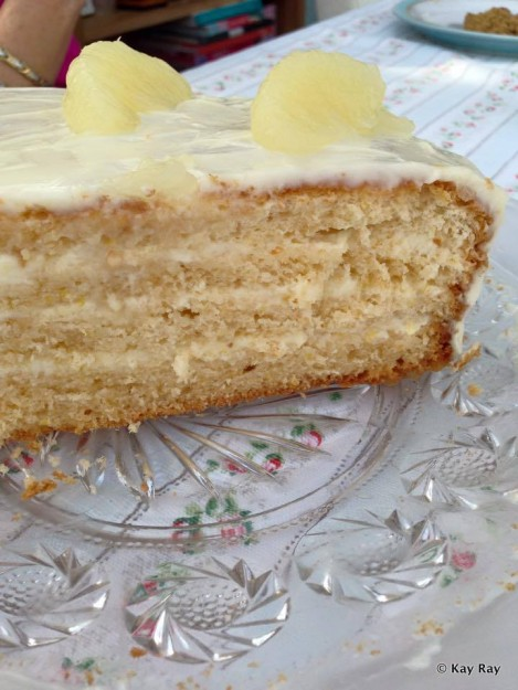 A Homemade Version of the Famed Brown Derby Grapefruit Cake -- Perfect for Spring!