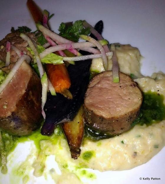 Kurobuta Pork at Le Cellier Steakhouse
