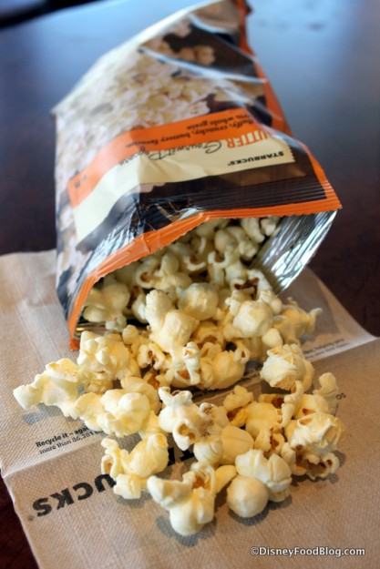 Buttered Popcorn -- Out of the Bag