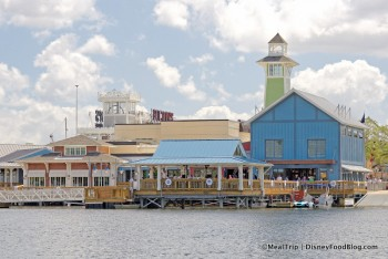 The Boathouse as seen from the water view