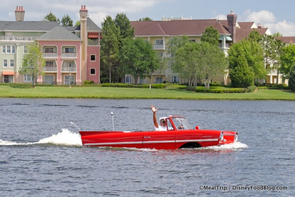 Amphicar Tours at The Boathouse