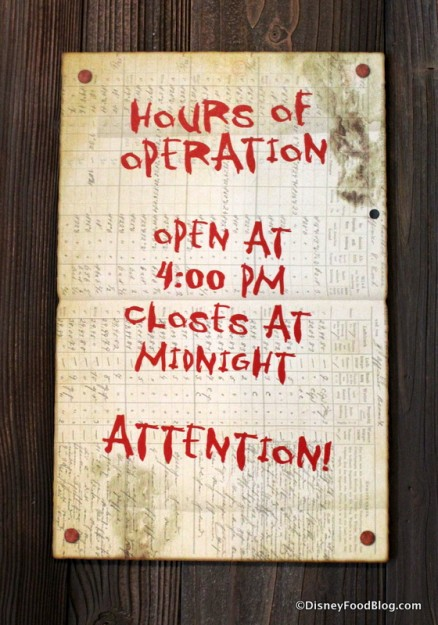 Grog Grotto Hours of Operation