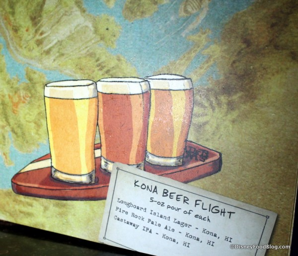 Kona Beer Flight