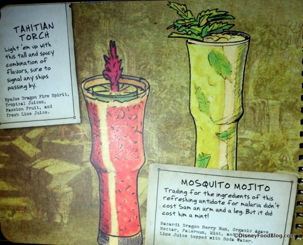 Tahitian Torch and Mosquito Mojito