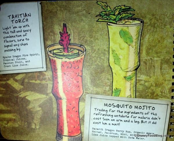 Tahitian Torch and Mosquito Mojito