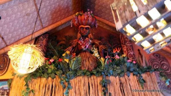 Tiki goddess of distaser