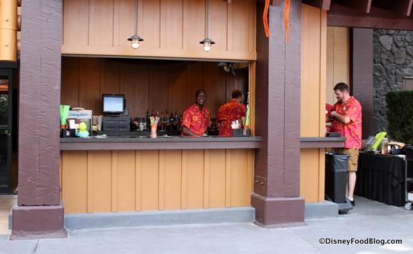 Tiki Terrace Bar