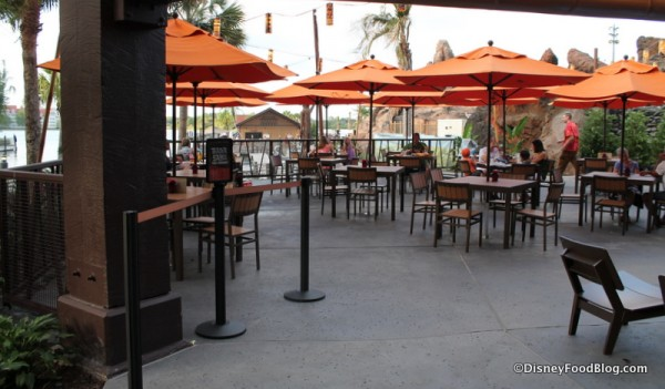 Tiki Terrace Entrance