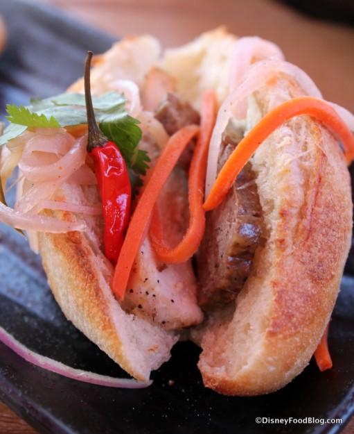 Roasted Chicken and Pork Pate Banh Mi Slider