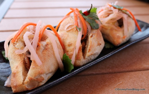 Roasted Chicken and Pork Pate Banh Mi Sliders