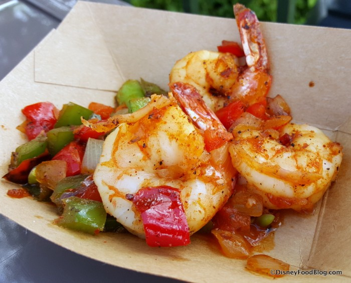 Sweet and Spicy Bush Berry Shrimp with Pineapple, Peppers, Onions, and Snap Peas