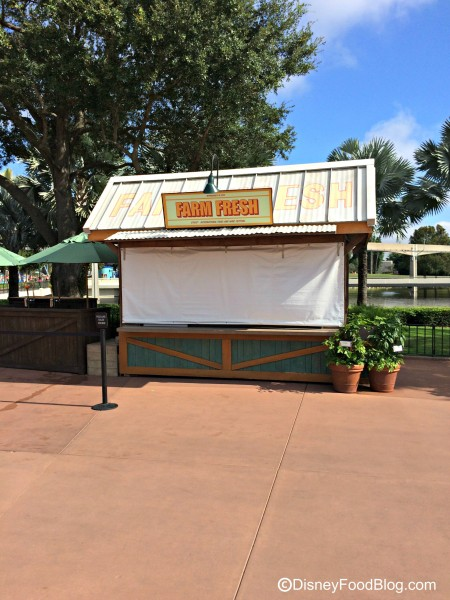 2015 Farm Fresh Booth
