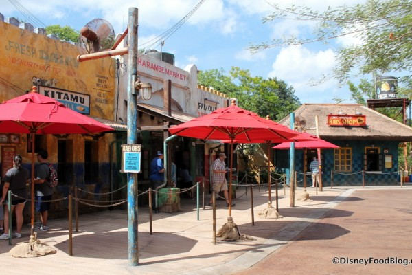 Photo Tour and Review: The New Harambe Market in Disney's Animal Kingdom