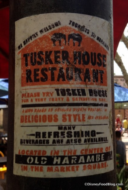 Tusker House ad