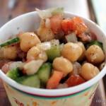 Recipe: Chickpea, Cucumber, and Tomato Salad from Harambe Market at Disney's Animal Kingdom