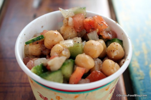 Chickpea, Cucumber, and Tomato Salad