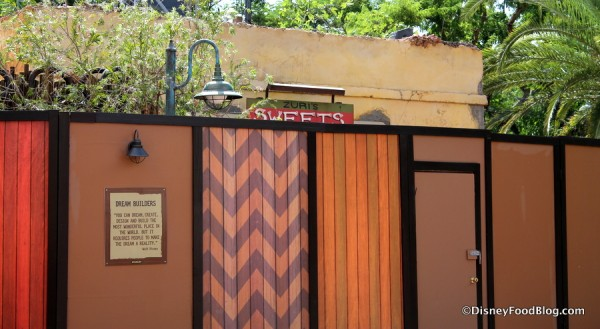 Zuri's Sweets Shop sign