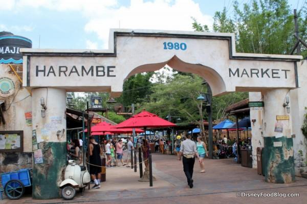Harambe Market gate