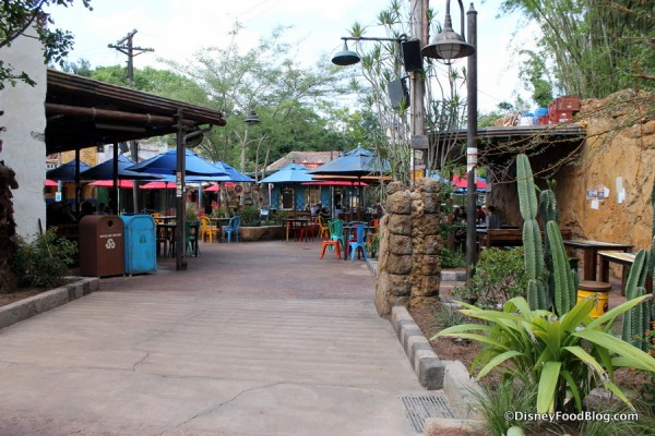 Side entrance to Harambe Market
