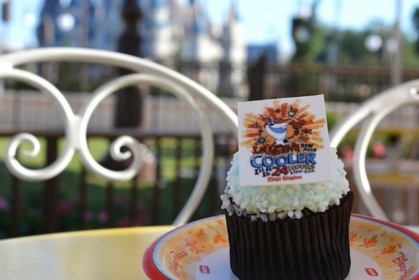 Coolest Summer Ever specialty cupcake