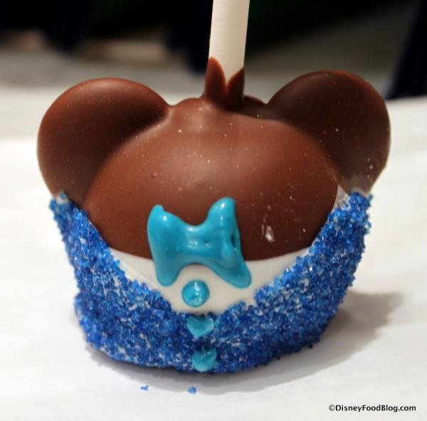Close Up of Disneyland Mickey Mouse Cake Pop