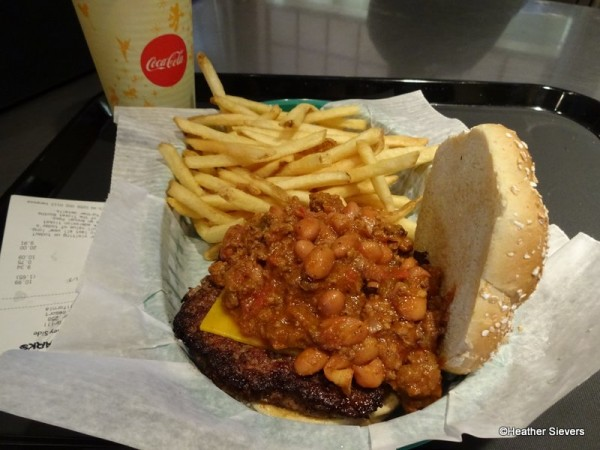 Chili Cheeseburger with Fries