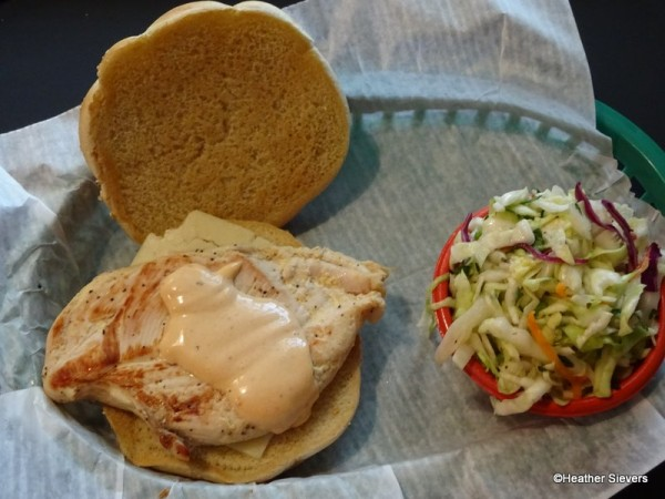 Grilled Chicken and Jack Sandwich