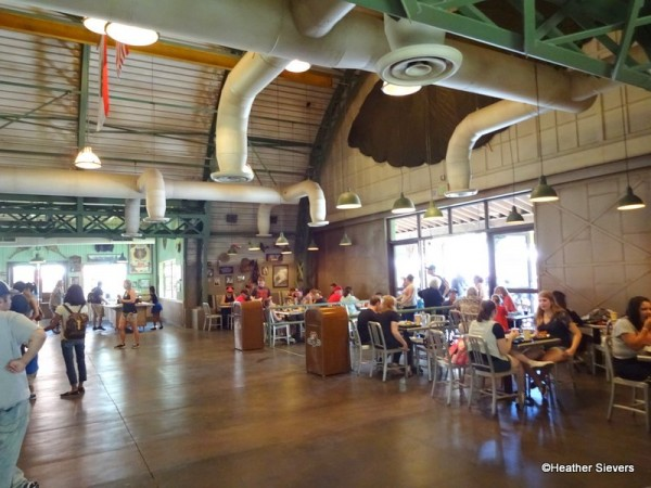 Just Half of the Indoor Seating at Smokejumpers