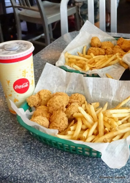 Chicken Breast Nuggets and Fries
