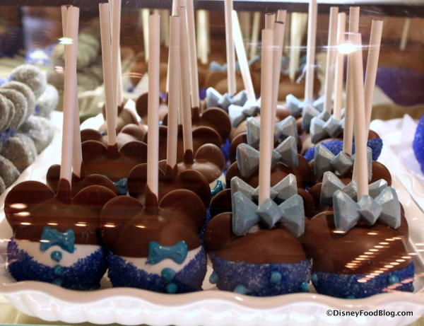 Disneyland 60th Anniversary Cake Pops