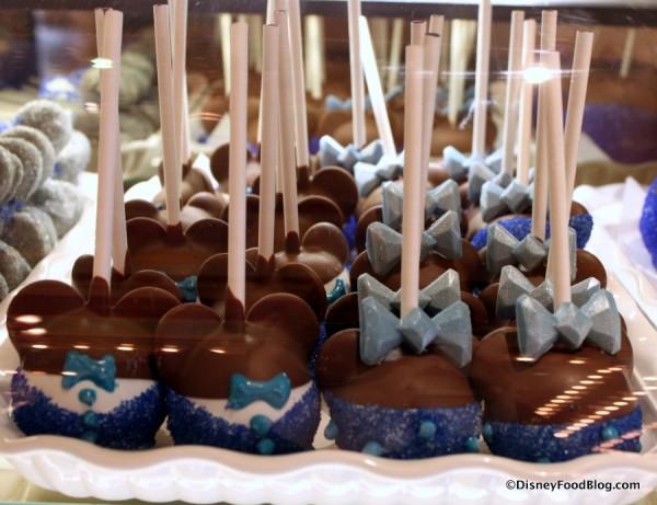 Disneyland 60th Anniversary Cake Pops