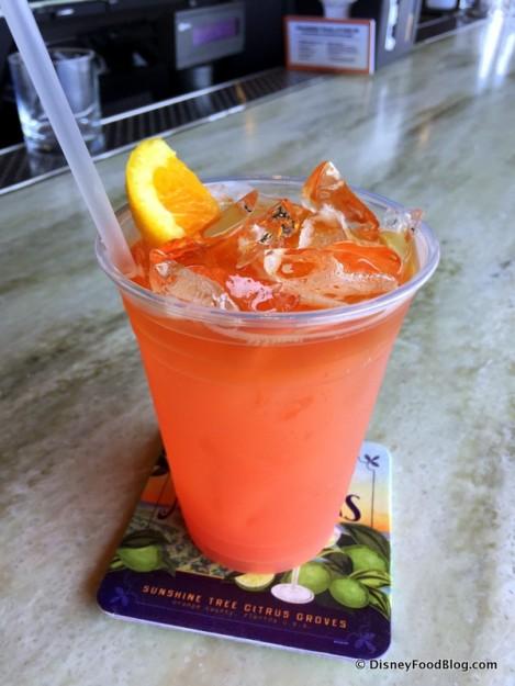 Orange Grove Rum Runner -- Up Close