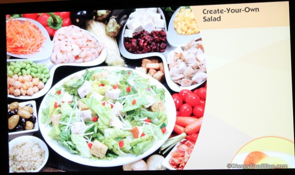 Create Your Own Salad Picture