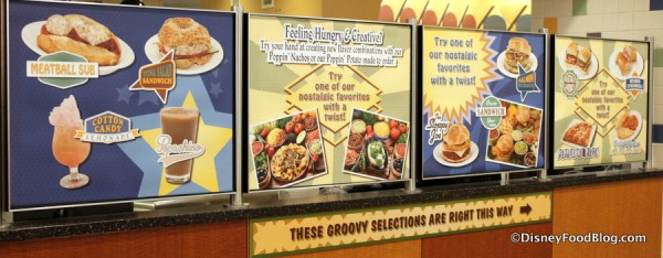 Fun Food Signs