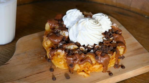 Mocha Chip Funnel Cake Disneyland