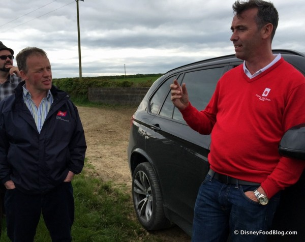 Paddy Murphy and Chef Kevin Dundon Discuss Grass Fed Beef with the Group