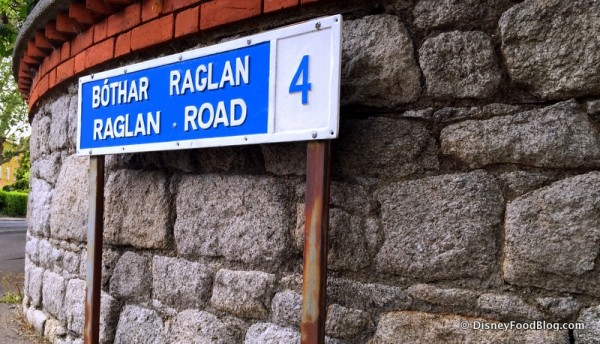 Raglan Road. Like, the Real Place.