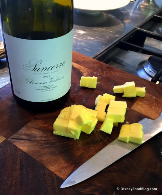 Sancerre and Irish Butter -- How Could We Go Wrong?