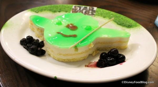 Yoda Key Lime cake
