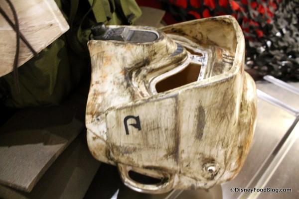 """Discarded"" helmet"