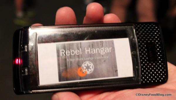 Rebel Hangar Buzzer