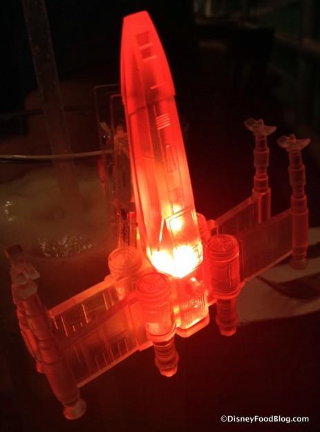 Same X-wing glow cube