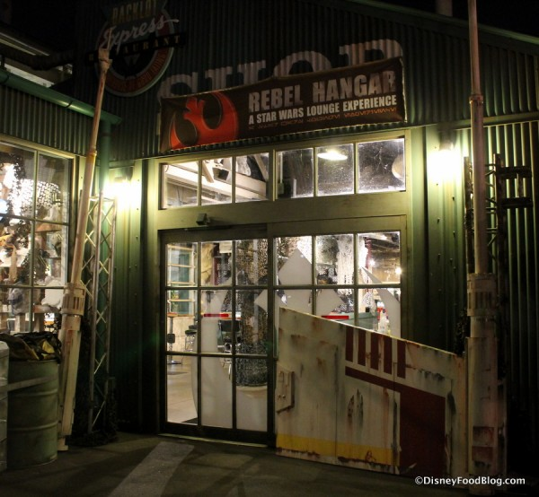 Entrance to Rebel Hangar