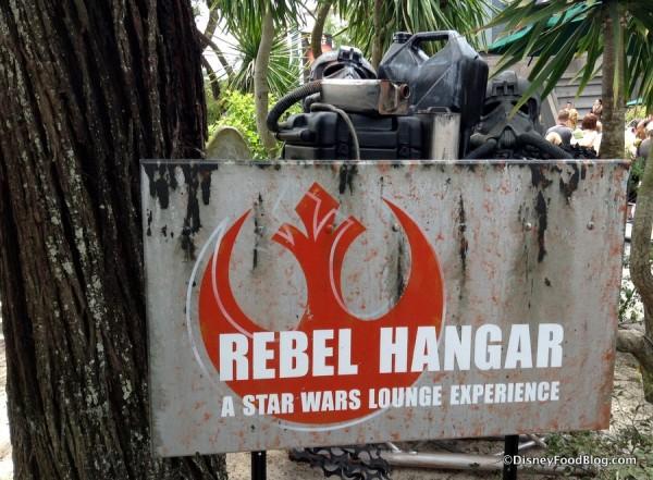 Rebel Hangar: A Star Wars Lounge Experience