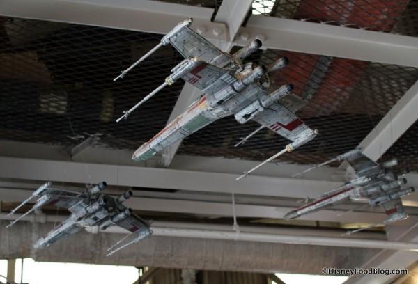 Rebel Hangar atmosphere