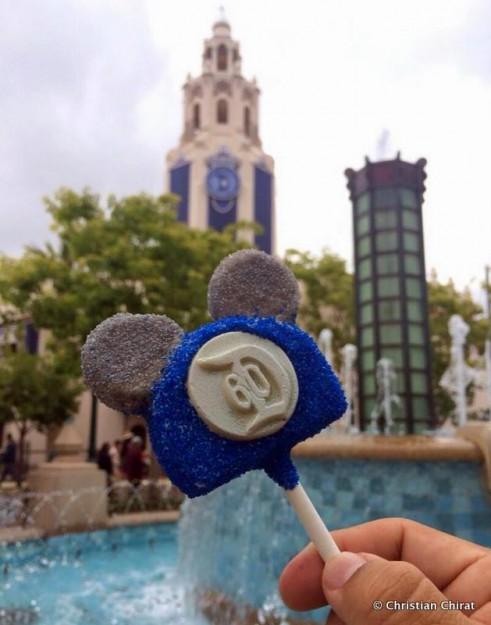 Disneyland 60th Anniversary Cake Pop