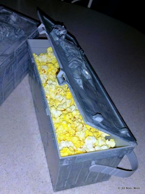 Han Solo Popcorn Bucket in Disneyland