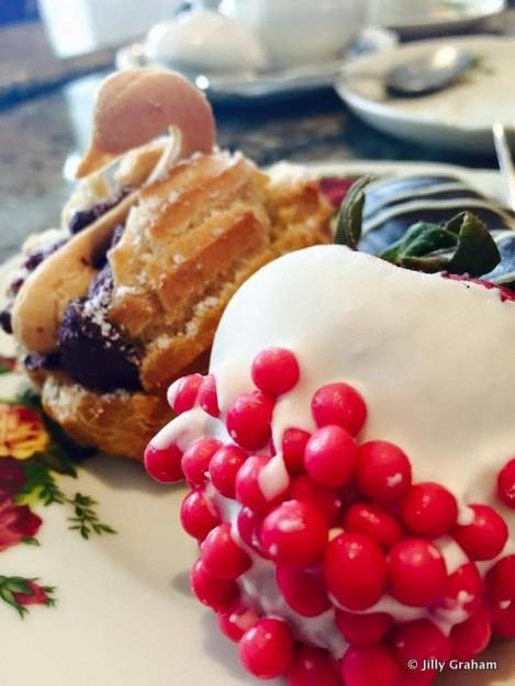 Tea Pastries at Garden View Lounge