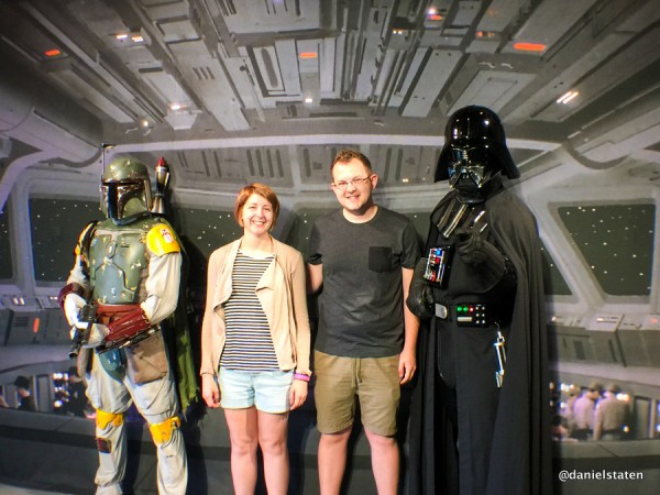 Meet and Greet with Darth Vader and Boba Fett